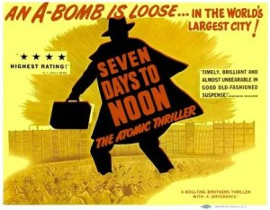 seven days to noon / ultimatum-1950