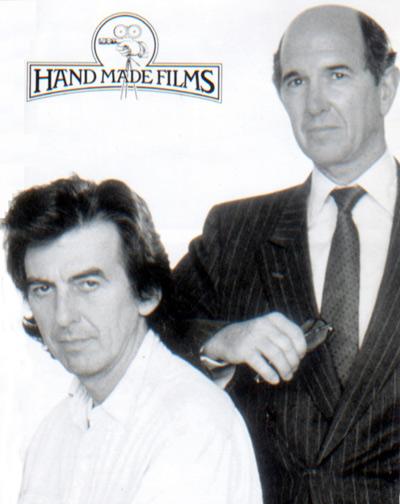 George Harrison et Denis O'Brien, les fondateurs de Handmade Films