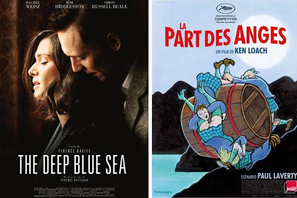 «The Deep Blue sea» et «La part des anges» dans les salles