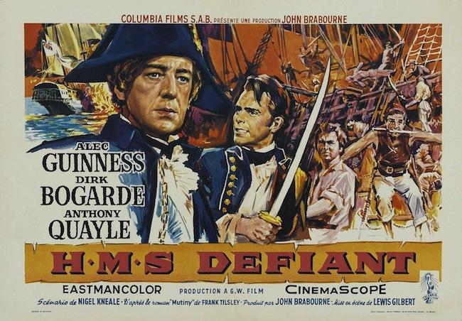 HMS Defiant / les mutinés du Téméraire (1962)