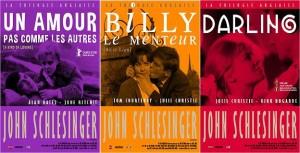 La trilogie anglaise de Schlesinger