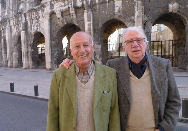 Francis Rousselet et Philippe Pilard, les deux grands spécialistes français du cinéma britannique