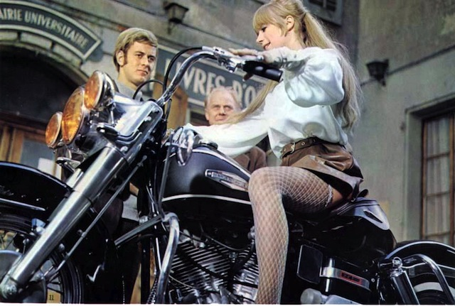 The Girl on the Motorcycle / La motocyclette (1968)