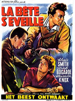 La bête s'éveille-1953-affiche