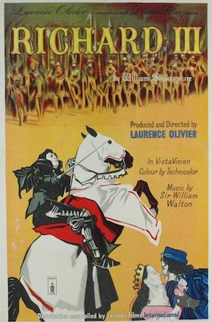 Richard III 1955 Affiche