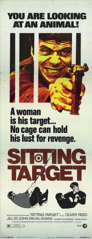 Sitting Target (affiche)