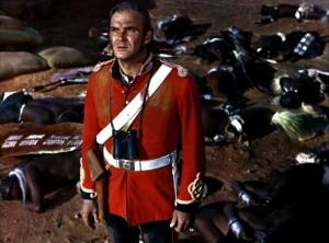 """Stanley Baker dans """"Zulu"""" (1964)"""