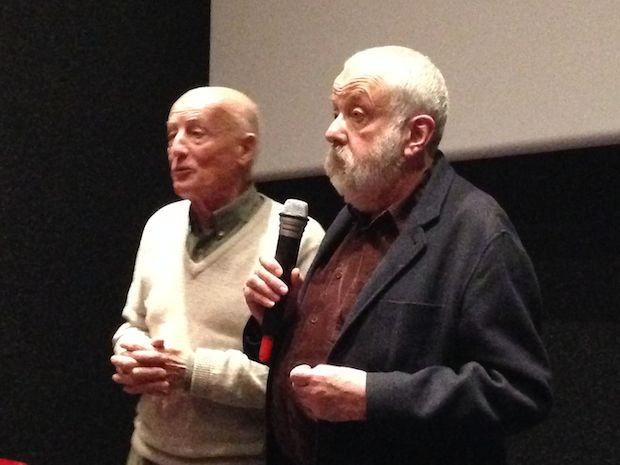 Francis Rousselet et Mike Leigh