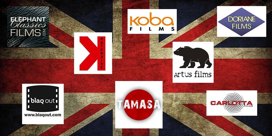 Le cinéma et la fiction télé britanniques chez les éditeurs français