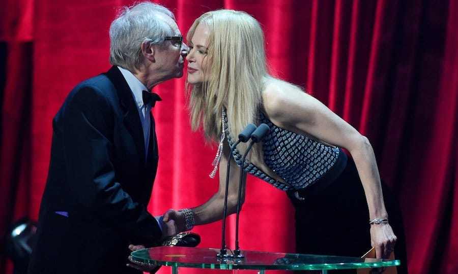 Ken Loach et Nicole Kidman