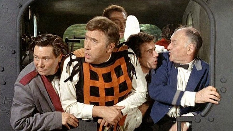 The Great St. Trinian's Train Robbery (1966)