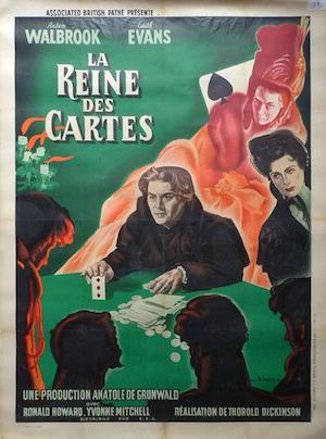 La Reine des Cartes (1949) affiche